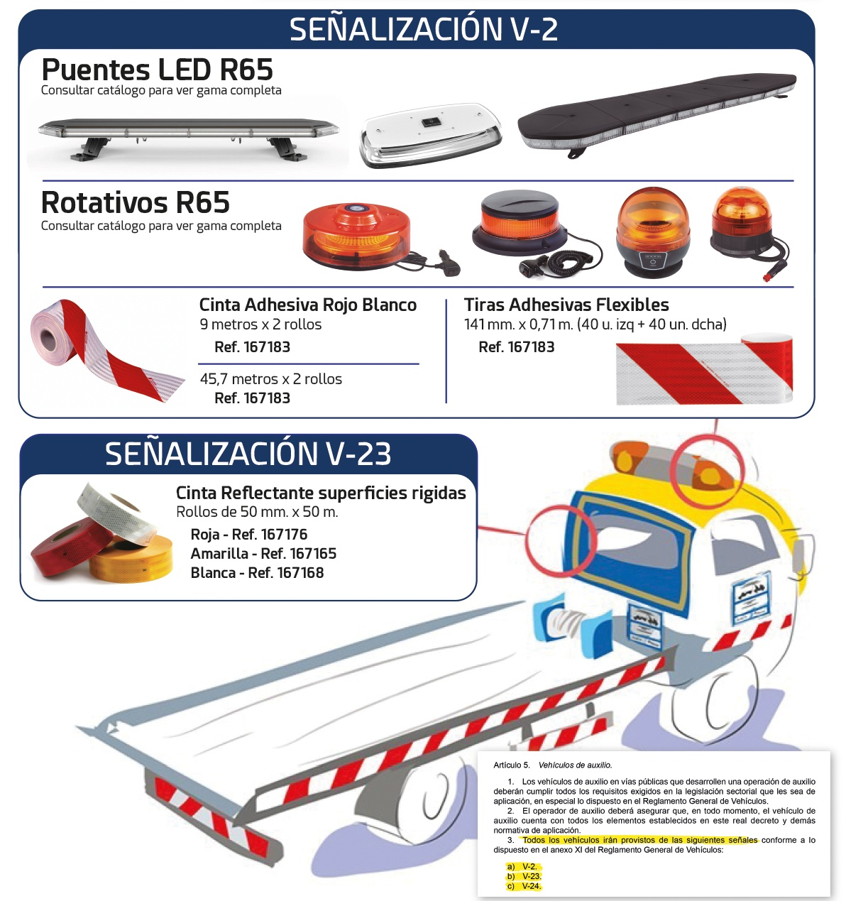 Nueva Señalización para Vehículos de Auxilio en Carretera-2021